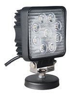 Wholesale 27W V Square YT10527MD Led Working Light Super Bright Lamp Spot Flood Lights Waterproof For Jeep SUV Truck