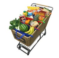 produce bags - eusable Compact in Shopping Trolley Bags Includes Produce and Insulated Compartment for Frozen Hot Groceries