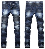 slim fit jeans - cheap Luxury balmain jeans for men stylish jeans personality slim fit skinny balmain jeans men s pants
