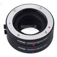 Wholesale FOTGA Auto Focus AF Macro Extension Tube DG mm mm Set For Samsung NX Mount