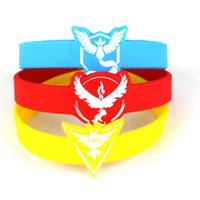 american mosquito - Thanksgiving Poke Bracelets Jelly glow silicone wristband Pocket Monster Soft Wrist Straps mosquito protect Kids Children Anime Gifts