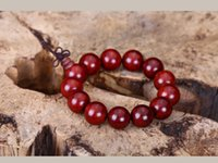Cheap Natural Laos red acid hand string Authentic annatto beads hand lay in series of high quality source for bracelet food men and women