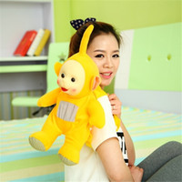 Wholesale cm Teletubbies schoolbag Baby toys plush Dolls D bag toy for Kids Christmas gifts kidz Children gift TV Doll
