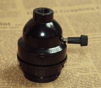 Wholesale high quality GU24 Black Bakelite knob lamp socket patent big adapter lamp holder Efficient Light bulb New Lamp Holder Socket
