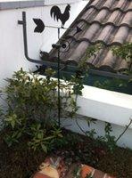 weathervane - Rooster weathervane garden decoration metal crafts ornaments gardening supplies Animal House Decoration