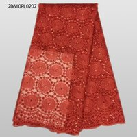 Wholesale 2016 Latest African Tulle Lace High Quality french lace fabric For colorful nigerian Swiss voile lace fabric for Wedding Dress D610PL02