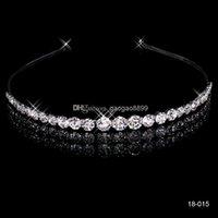 Cheap In Stock 2016 Free Shipping New sparkly Bridal Rhinestone Crystal Wedding Prom Homecoming Crowns Bridal Tiaras & Hair Accessories Fashion