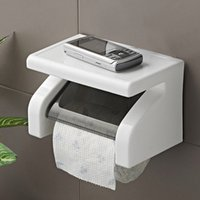 Wholesale Amazing Durable Bathroom Accessories Stainless Steel Toilet Paper Holder Tissue Holder Roll Paper Holder Box tinyaa