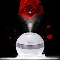 Wholesale Cheap USB Humidifier Aroma Oil Diffuser Air Purifier Mist Maker LED Night Light Home Office