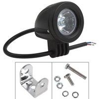 60 Degree 800lm 2 2PCS 2 Inch 12V 24V 800LM 10W Waterproof LED Work Light Driving Fog Lamp for Car   Motorcycle   Boat   ATV CLT_421