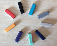 Wholesale 12 Colors Replacement Metal Head End Caps Locker Case For up2 up24 WRIST BAND DUST PROTECTOR DHL