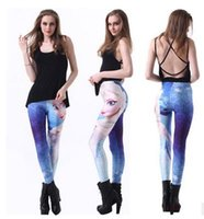 beauty jersey - Fashion new digital printing cartoon beauty leggings Female stretch pants