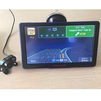 automotive rear view camera - 7 inch Car GPS Navigation Bluetooth AVIN WinCE with Rear View camera GB Europe Russia Navitel Navigator Vehicle gps
