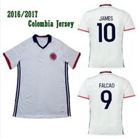 colombia - New Colombia white soccer jerse FALCAO JAMES best quality Colombia football shirt