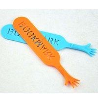Wholesale High Quality Color Bookmarks Plastic Book Holder Bookmark School Office Supplies Papelaria