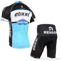big bike shorts - 2015 Big discount quickstep cycling jereys jersey short sleeves none bib pants bicycle wear bike clothing padded cycling BLUE color