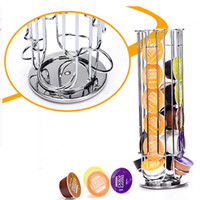 bamboo solutions - Top Home Solutions Revolving Rotating Capsule Coffee Pod Holder Tower Stand Rack For Dolce Gusto