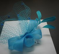 tea party hats - Turquoise Womens Tea Party Hat Church Hat Derby Hat Fancy Hat Tea Party Hat wedding hat British Hat