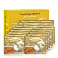 Wholesale Eye cream PILATEN Collagen Crystal Eye Masks Anti puffiness moisturizing Eye masks Anti aging masks collagen gold powder eye mask