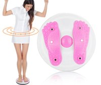 Wholesale A21 Figure Body Twister Foot Massage Trimmer Waist Abdominal Fitness Exercise Board