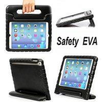 air bag shock - Kids Safe Thick Foam Shock Proof EVA Handle Case Cover Stand For ipad pro inch iPad iPad air iPad Mini1 With OPP Bag
