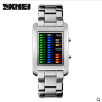 Wholesale New Outdoor Sports Men Luxury Brand Skmei LED Digit Watch Fashion Casual Wristwatches Waterproof Boy Electronic Student Watches