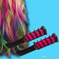 Wholesale 100 Crayons for Coloring Hair Manic Panic Semi Permanent Hair Color Chalk With Comb Temporary Blue Dye