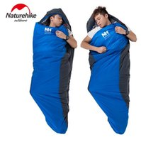 Wholesale 2016 cm Autumn Ultralight Warmth Adult Thickening Winter Sleeping Bag For To Degree