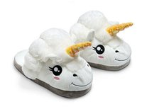 cartoon slippers - New Cartoon Plush Unicorn Slippers For Grown Ups Cosplay Chinelo Dreamy White Despicable Me Minions Indoor Slipper For Adult For DHL