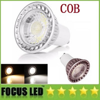 Wholesale GU10 E27 Led Bulbs Light W W COB Led Spot Lights Lamp High Lumens CRI gt AC V DC V DHL