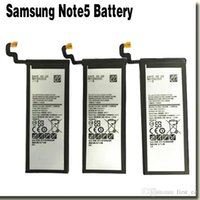 Wholesale Original Hot Sale Replacement Battery For Samsung GALAXY Note5 N9200 N920t Project Noble EB BN920ABE Full mah