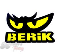 berik racing - BERIK Racing EYES Sticker Motorcycle Car Wall Decal Styling Vinyl for FIT CR V Spirior City Crider Jade Civic Insight Sticker