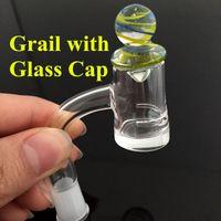 Ongles en verre dabs Prix-Fumeurs Utilisé Quartz Grail Banger NailsMale Femelle Domeless Nails Dab Rigs Également Vendre Enail Dab Glass Pipes Oil Rigs