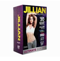 Wholesale 2016 Newest Release JIllian Michaels ULTIMATE BOX SET Workout DVD DVD Fitness workout BRAND NEW Fast DHL