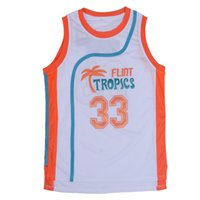 Wholesale Cheap Throwback Basketball Jerseys Jackie Moon Flint Tropics Jerseys Basketball Jersey usa Basketball Throwback Jerseys Stitched Jerseys