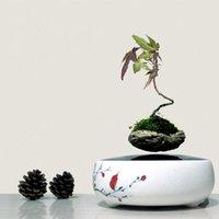 ceramic flower pots - 2016 japan high tech products magnetic levitation air bonsai no plant ceramic flower pot culture