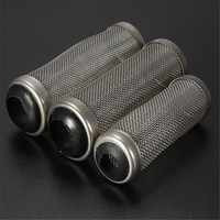 aquarium filter tube - Stainless Steel Metal Filter Tube Aquarium Filter Inflow Inlet Basket Mash Shrimp Guard Protect Increase Dissolved Oxygen Level