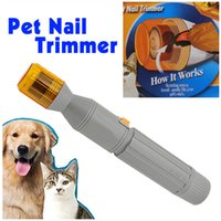 Wholesale Professional Pet Scissors Pet Nail Cut Clippers Trimmers for Cat Dog Animal Grooming