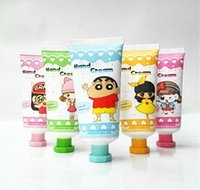 antibacterial hand cream - Hand Skin Care New SMELL Cartoon Whitening Moisturizing Hand Cream Mini Cute Hand Lotions Nourishing Anti Aging Keep Skin Energetic