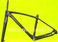 Wholesale FR216 Full Carbon UD matt matte mountain bike Bicycle MTB Frameset BSA Frame included fork and headset