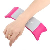 Wholesale Abody Brand Comfortable Nail Art Hand Holder Cushion Plastic Silicone Cushion Nail Arm Rest Manicure Accessories Tool Equipment