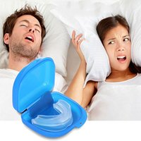 Wholesale Mouth Guard Stop Teeth Grinding Anti Snoring Bruxism with Case Box Sleep Aid Eliminates Snoring Health Care Hot Selling