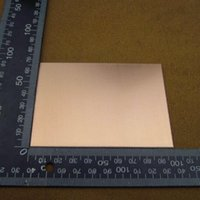 Wholesale PCB One Side Single Side Copper Clad x100x1 mm Single PCB Board