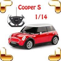 mini cooper rc car - New Year Gift Rastar Mini Cooper S RC Remote Control Toy Car Big Sedan Car Electric Drive Vehicle Cute Present