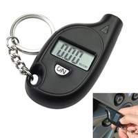 Wholesale Portable PSI Mini Digital LCD Motorcycle Auto Car Tire Air Pressure Gauge Tester PLC
