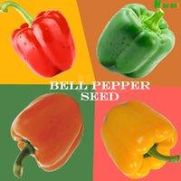 bell peppers plant - Big Bell Pepper Seeds Planting Sweet Crisp Delicious Bonsai Home Garden