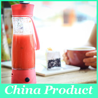 battery hand mixer - 350ml Hand Portable Electric Fruit Juice Mixer Cup Battery Automatic Milkshake Juicer Mixer Bottle with phone charger