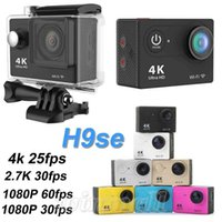 action card - Gopro Style WIFI K Action Camera H9se Helmet sport Camera M waterproof P fps HDMI Mini DV H9 SJ6000
