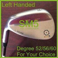 Wholesale 1 Piece Brand New Professional Man Steel Silver Degree For Choice SM5 Shaft Vokey Left Handed Golf Clubs Wedge