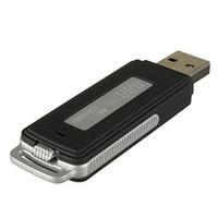 Wholesale 5pcs in USB Flash Drive Spy Digital Voice Recorder Mini Dictaphone WAV Portable Audio Recorder
